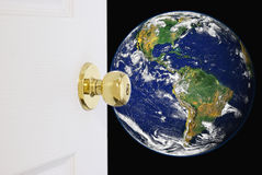Free Doorway To A New World Stock Images - 56709444