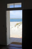 Doorway to the beach Stock Photography