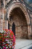 Doorway to god. Hereford cathedral Royalty Free Stock Photography