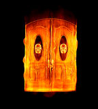 Doorway to hell Royalty Free Stock Images