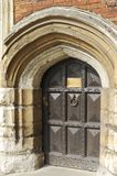 Doorway to Lambeth Palace. London Royalty Free Stock Photography