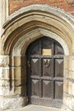 Doorway to Lambeth Palace. London. Entrance doorway to Lambeth Palace (home to Archbishop of London). London. England Royalty Free Stock Photography
