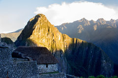 Doorway to Machu Picchu Royalty Free Stock Photography