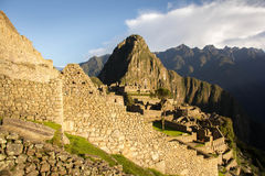 Doorway to Machu Picchu Royalty Free Stock Images