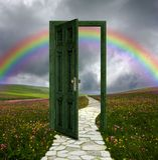 Doorway To No Where Stock Image