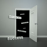 Doorway to Success Stock Photos