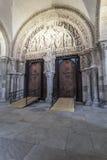 Doorway to Vezelay Stock Images