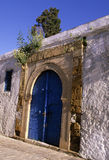 Doorway- Tunisia Royalty Free Stock Image