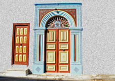 Doorway - Tunisia, Africa Stock Photo