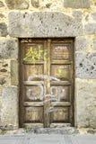 Doorway. A typical doorway in Sicily, Italy royalty free stock photos