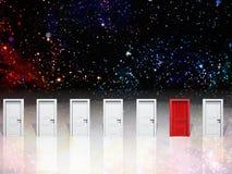 Doorways Stock Photo