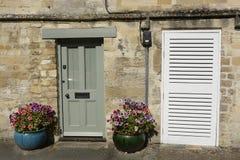 Doorways in Burford, Oxfordshire, England Stock Image