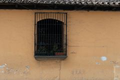 Doorways and entries in Antigua Guatemala. Doorways entries and windows found on the streets of Antigua Guatemala royalty free stock photography