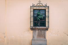 Doorways and entries in Antigua Guatemala. Doorways entries and windows found on the streets of Antigua Guatemala royalty free stock image