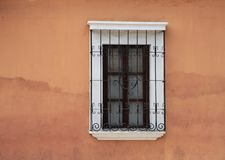 Doorways and entries in Antigua Guatemala. Doorways entries and windows found on the streets of Antigua Guatemala stock images
