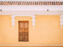 Doorways and entries in Antigua Guatemala. Doorways entries and windows found on the streets of Antigua Guatemala stock image
