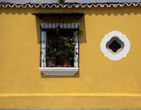 Doorways and entries in Antigua Guatemala stock images