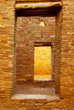 Doorways in Pueblo Bonito, Chaco Canyon National Historical Park, New Mexico Stock Photo