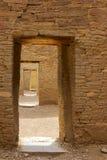 Doorways at Pueblo Bonito Royalty Free Stock Image