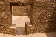 Doorways at Pueblo Bonito Stock Image