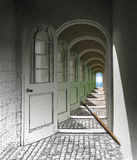Doorways to Destiny Stock Image