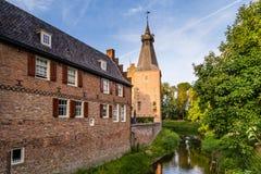 Doorwerth-Schloss Gelderland die Niederlande Lizenzfreie Stockbilder