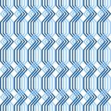 Doorwevend patroon. Naadloze geometrische textuur. Stock Foto