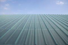Doorzichtig dak Stock Foto