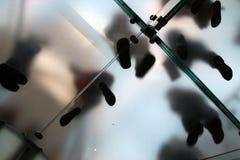 Doorzichtig lopen van Businesspeople Stock Fotografie