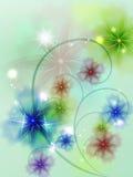 Doorzichtige bloemen Stock Fotografie