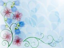 Doorzichtige bloemen Royalty-vrije Stock Afbeeldingen