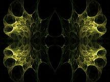 Doorzichtige symmetrische gestructureerd nevel complex Stock Afbeelding