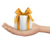 Doos-gift 3d beeld Stock Illustratie