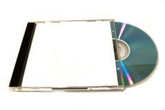 Doos met CD Stock Afbeelding
