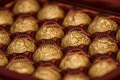 Doos met snoepjes Stock Fotografie