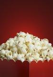 Doos popcorn Royalty-vrije Stock Afbeeldingen