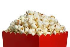 Doos popcorn stock foto's