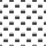 Doos van bierpatroon, eenvoudige stijl Royalty-vrije Stock Afbeeldingen