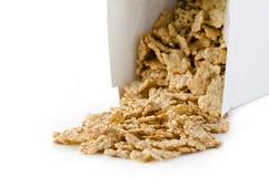 Doos van cornflakes. Stock Fotografie