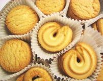 Doos van koekjes 3 stock afbeeldingen
