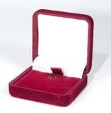 Doos voor juwelen Royalty-vrije Stock Afbeeldingen
