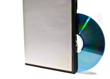 Doos voor schijf met CD Royalty-vrije Stock Afbeelding