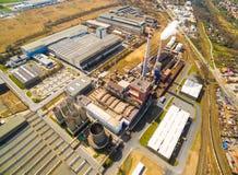Doosan斯柯达力量钢厂 图库摄影