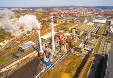 Doosan Skoda Power steel works. Royalty Free Stock Photo