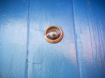 Doot peephole Stock Photo