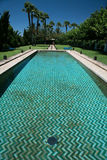 Dopłynięcie arabski basen Fotografia Royalty Free