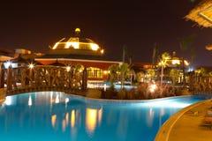 Dopłynięcie hotelowy basen   Fotografia Royalty Free
