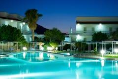 Dopłynięcie hotelowy basen Obrazy Stock