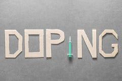 dopage image stock