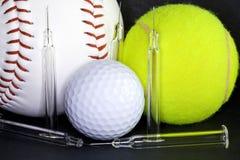 Dopage dans le sport images stock